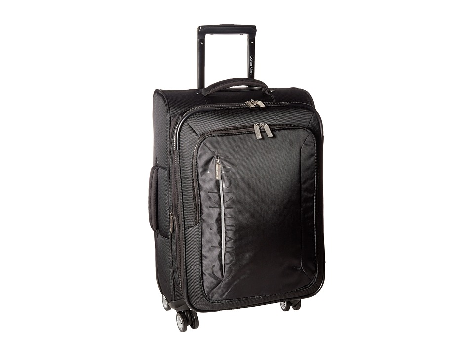 Calvin Klein - Tremont 21 Upright Suitcase (Black) Luggage