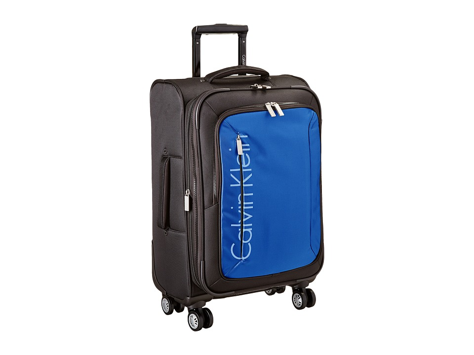 Calvin Klein - Tremont 21 Upright Suitcase (Blue) Luggage