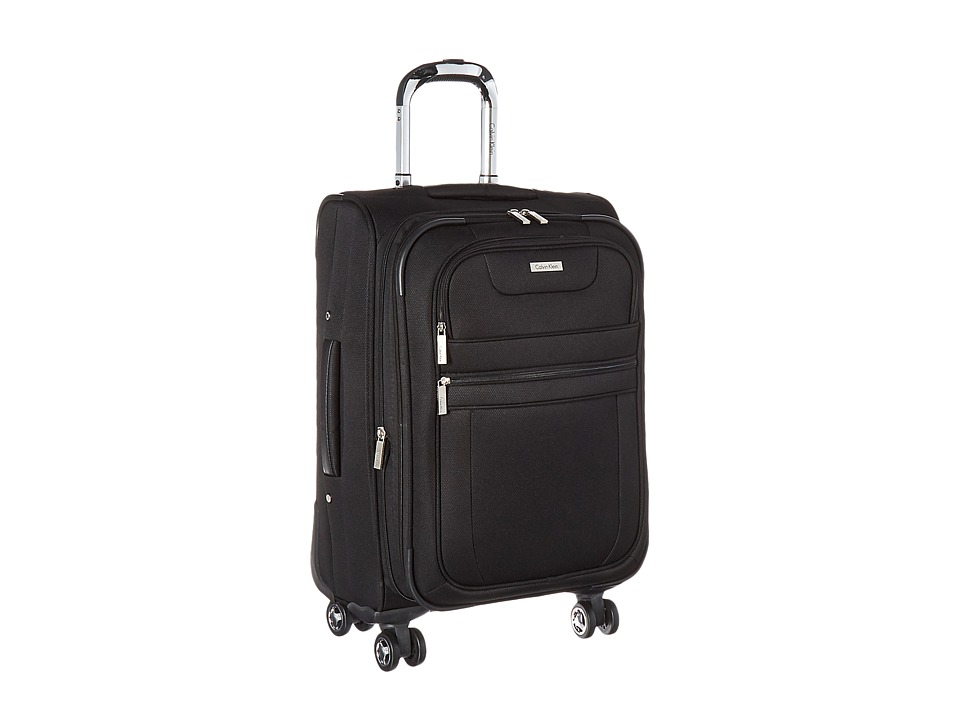 Calvin Klein - Gramery 2.0 21 Upright Suitcase (Black) Luggage