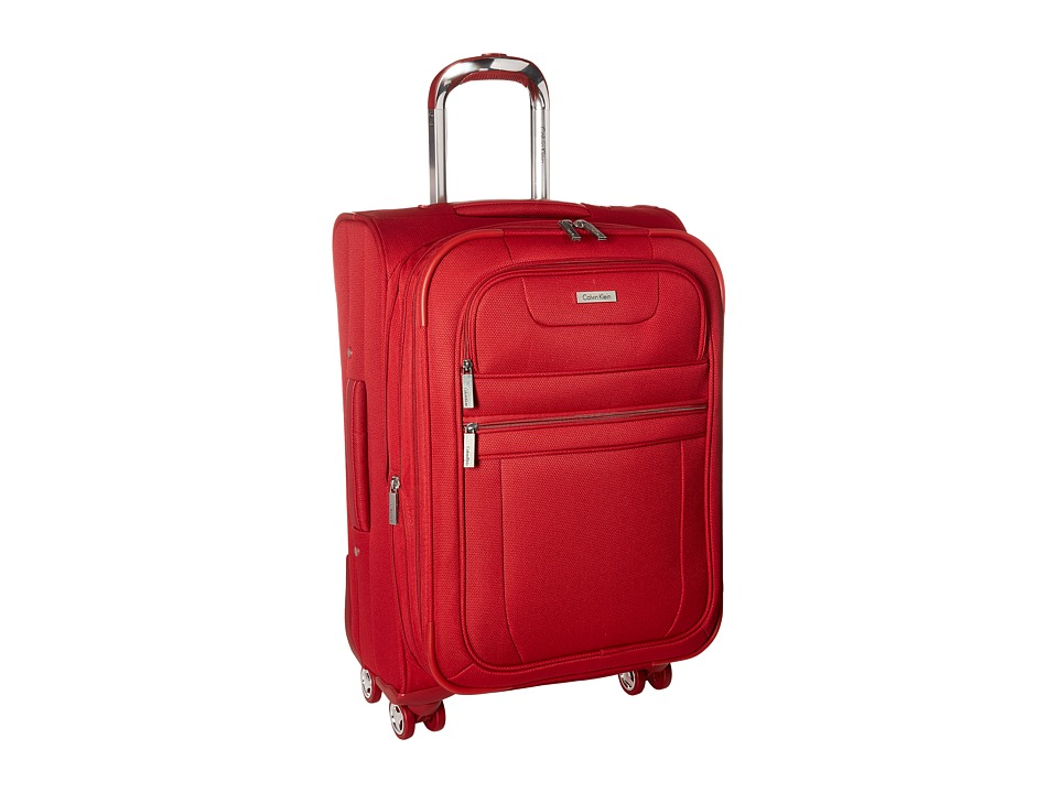 Calvin Klein - Gramery 2.0 21 Upright Suitcase (Red) Luggage