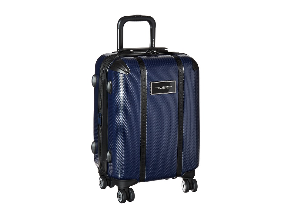 Tommy Hilfiger - Voyage 20 Upright Suitcase (Navy) Carry on Luggage