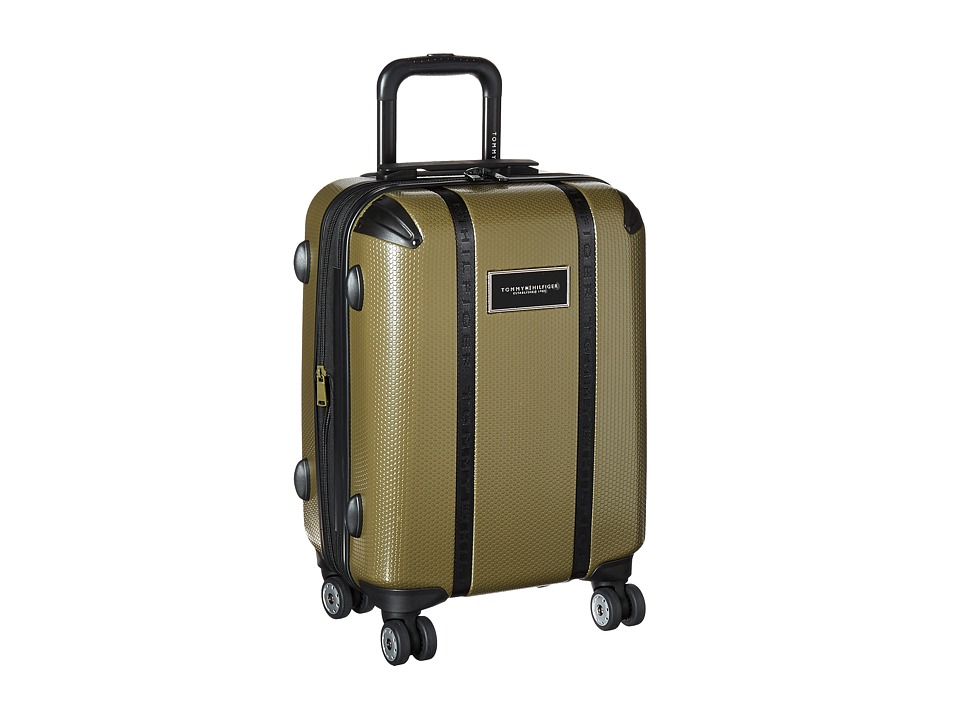 Tommy Hilfiger - Voyage 20 Upright Suitcase (Olive) Carry on Luggage