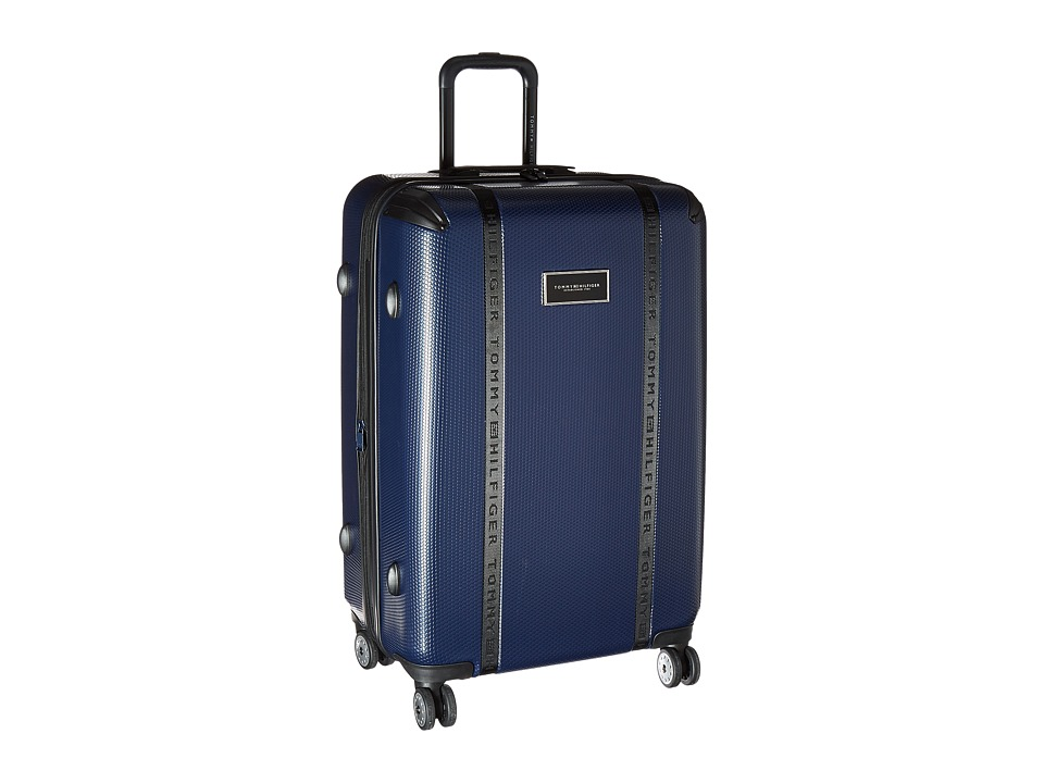 Tommy Hilfiger - Voyage 28 Upright Suitcase (Navy) Carry on Luggage