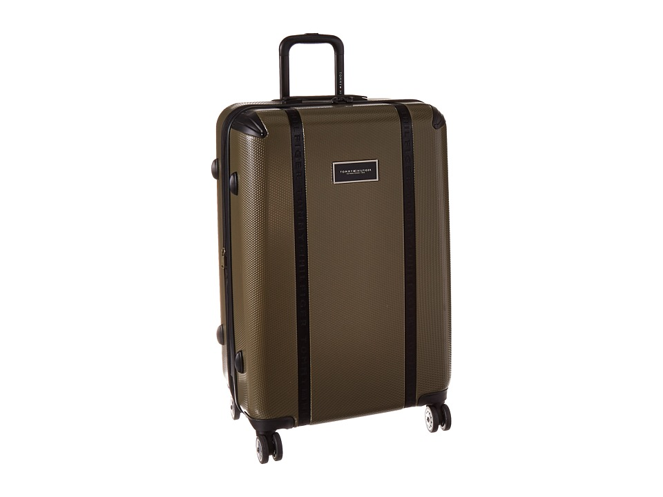 Tommy Hilfiger - Voyage 28 Upright Suitcase (Olive) Carry on Luggage