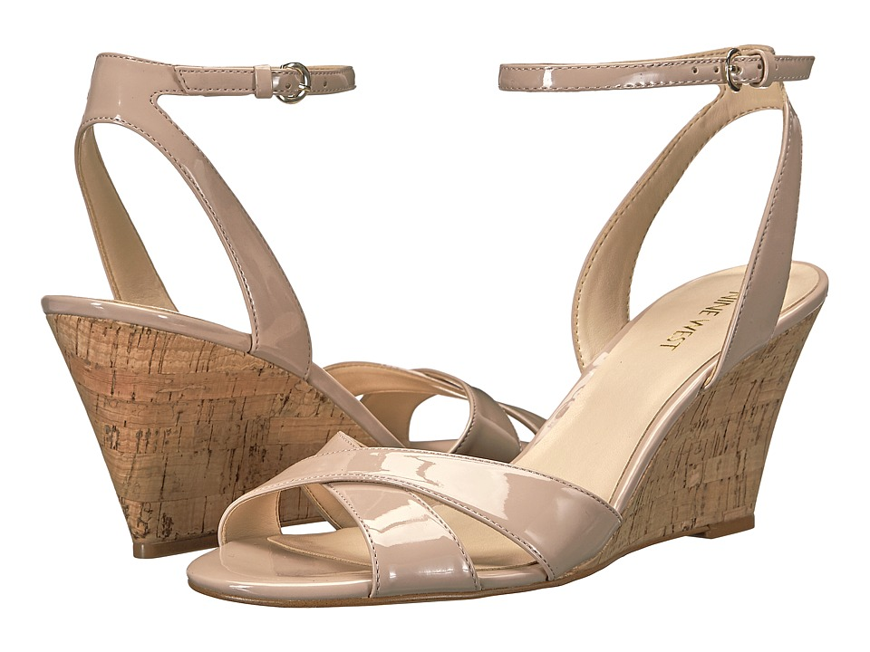 Nine West - Kami (Natural Patent Synthetic) Women's Shoes
