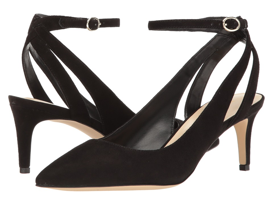 Nine West - Shawn (Black Suede) High Heels