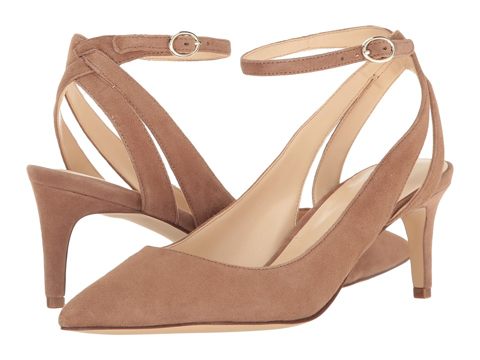 Nine West - Shawn (Natural Suede) High Heels