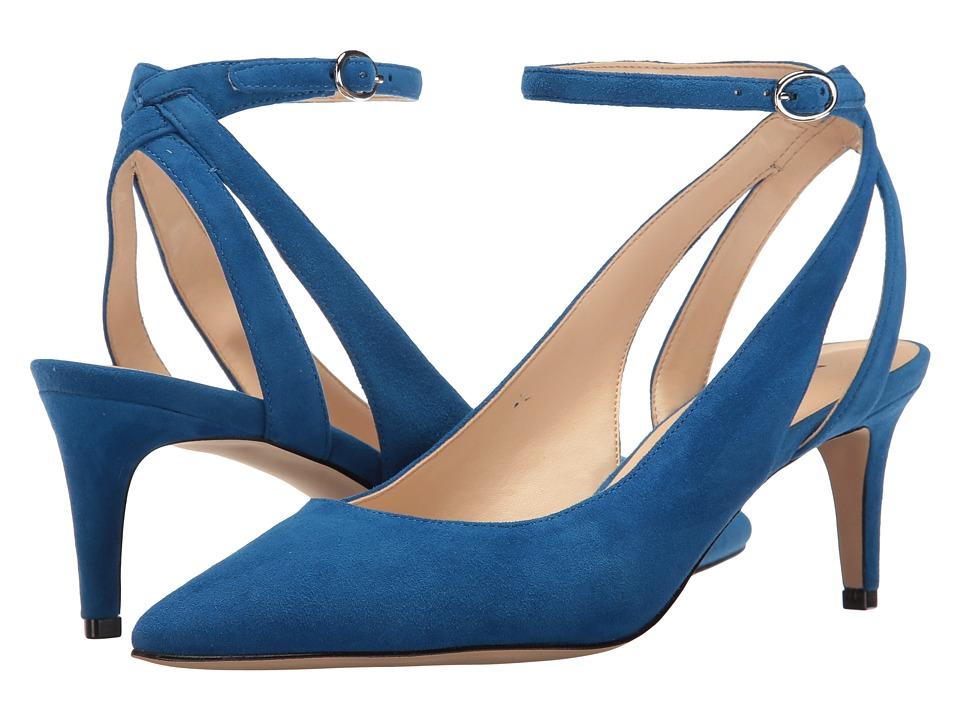 Nine West - Shawn (Blue Suede) High Heels