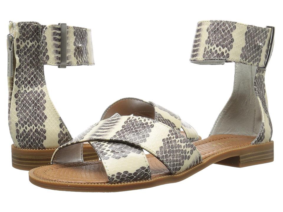 Nine West - Xen 3 (Off-White/Black Synthetic) Women's Sandals