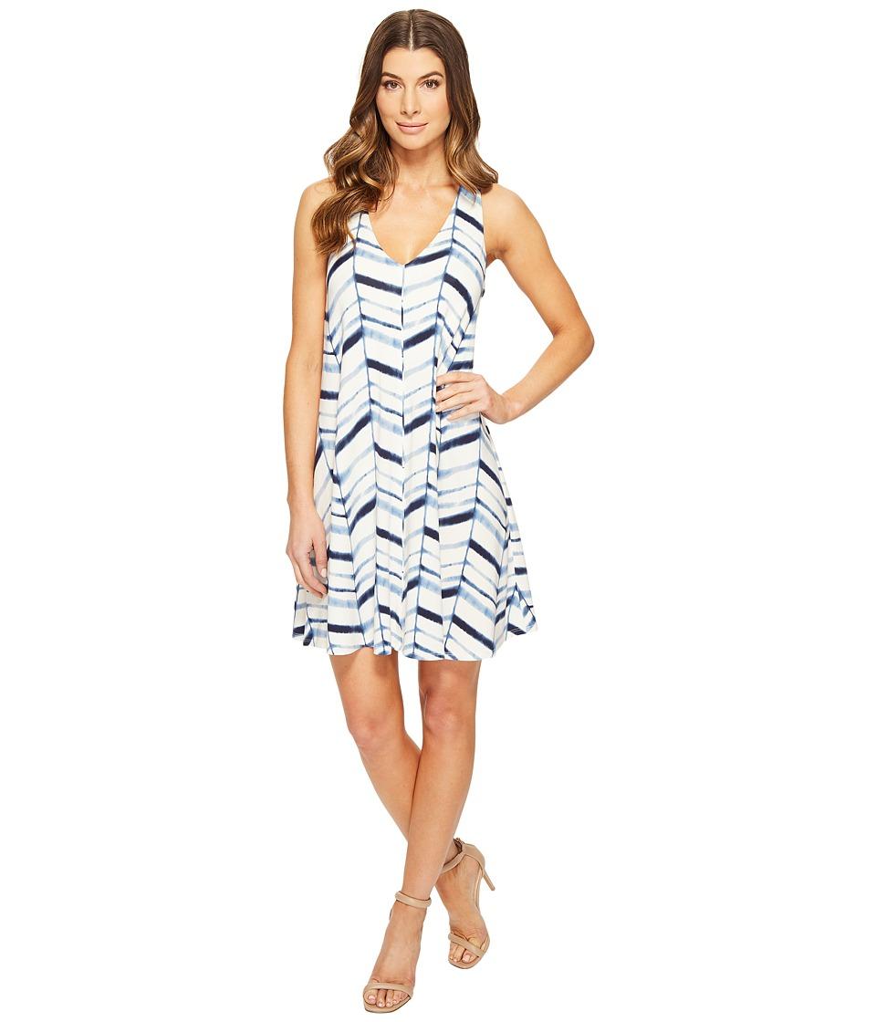 Tart - Lyndin Dress (Watercolor Chevron) Women's Dress