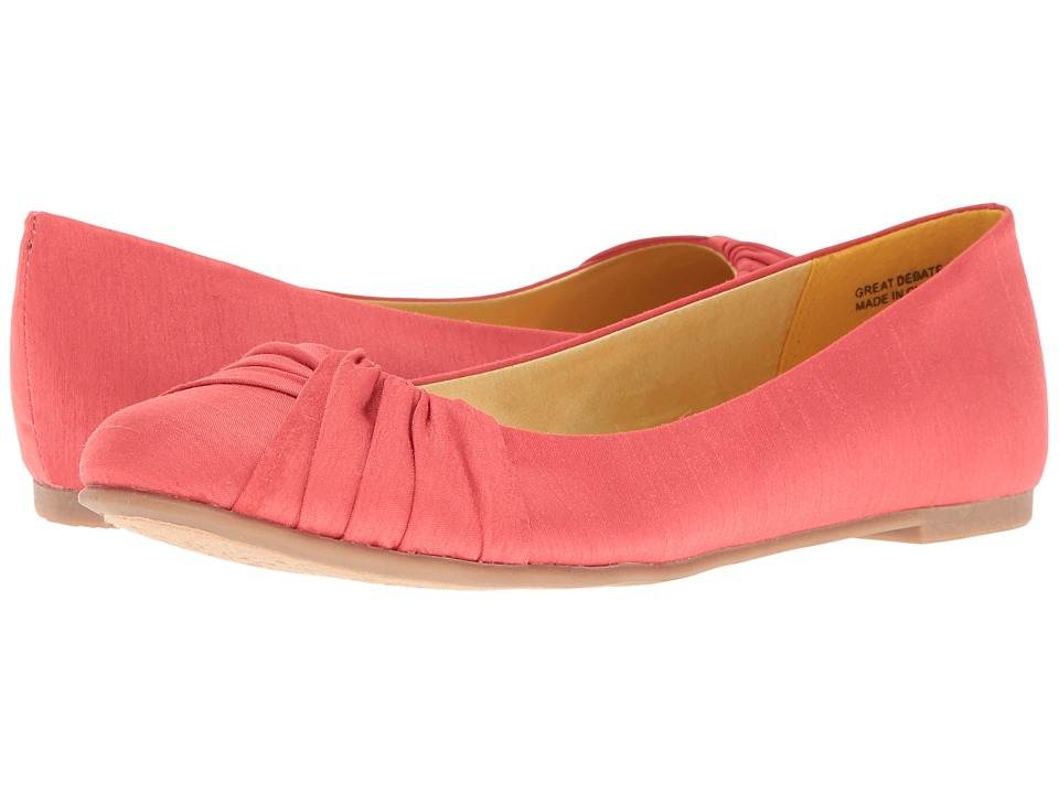 CL By Laundry - Great Debate (Coral) Women's Flat Shoes