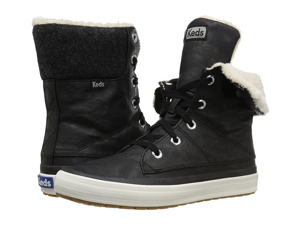 Keds Juliet Boot (Black) Women