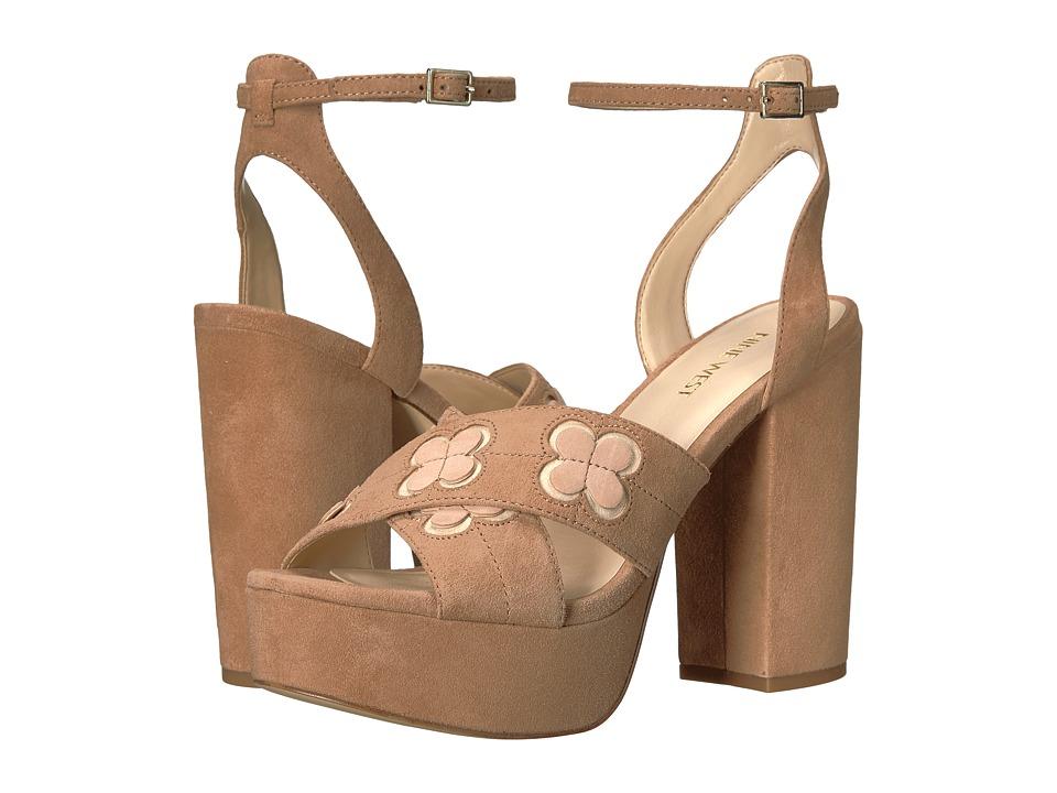 Nine West - Koolkat (Dark Natural Suede) High Heels