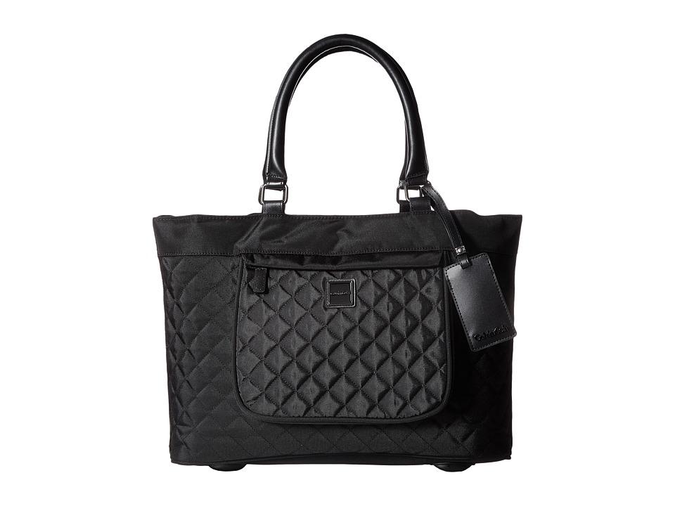 Calvin Klein - Hawthorne 17 Tote (Noir) Tote Handbags