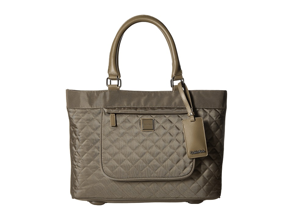 Calvin Klein - Hawthorne 17 Tote (Truffle) Tote Handbags