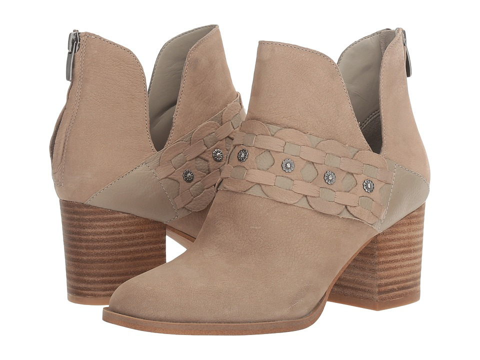 Nine West Danbia Taupe Suede Womens Clog Shoes
