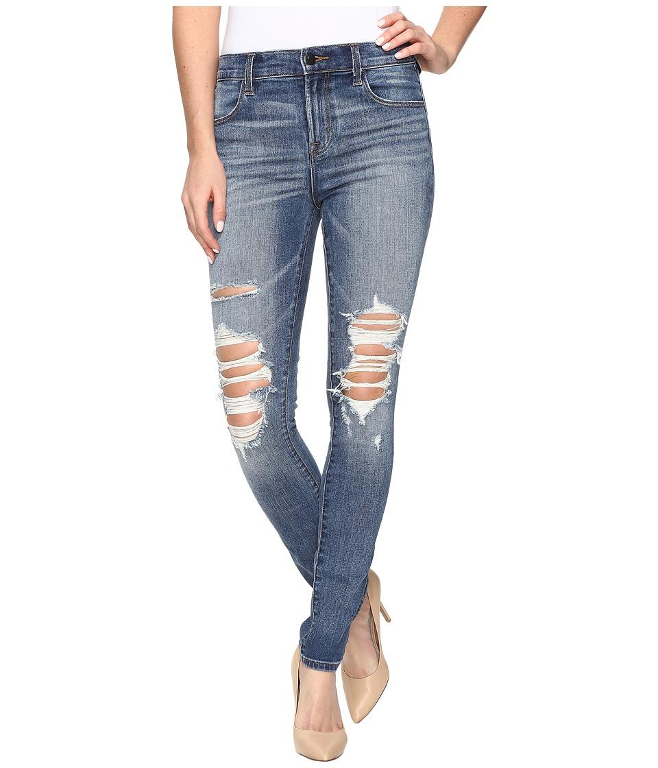 J Brand - Maria High-Rise Skinny in Decoy Destruct (Decoy Destruct) Women's Jeans