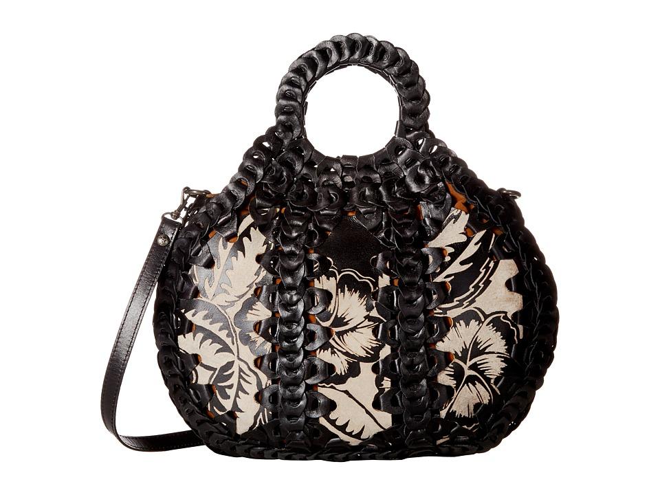 Patricia Nash - Senise Satchel (Black) Satchel Handbags