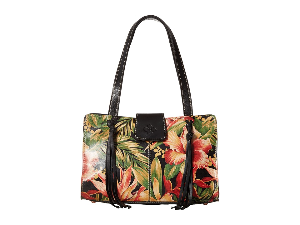 Patricia Nash - Rienzo Satchel (Cuban Tropical Black) Satchel Handbags