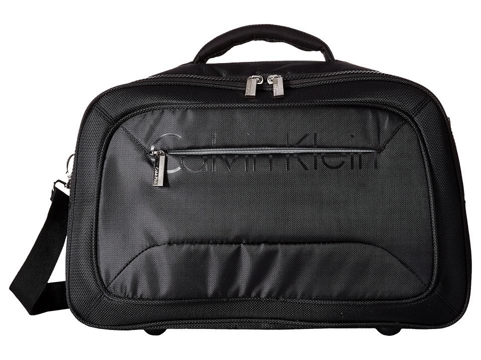 Calvin Klein - Tremont Cabin Duffel (Black) Pullman Luggage