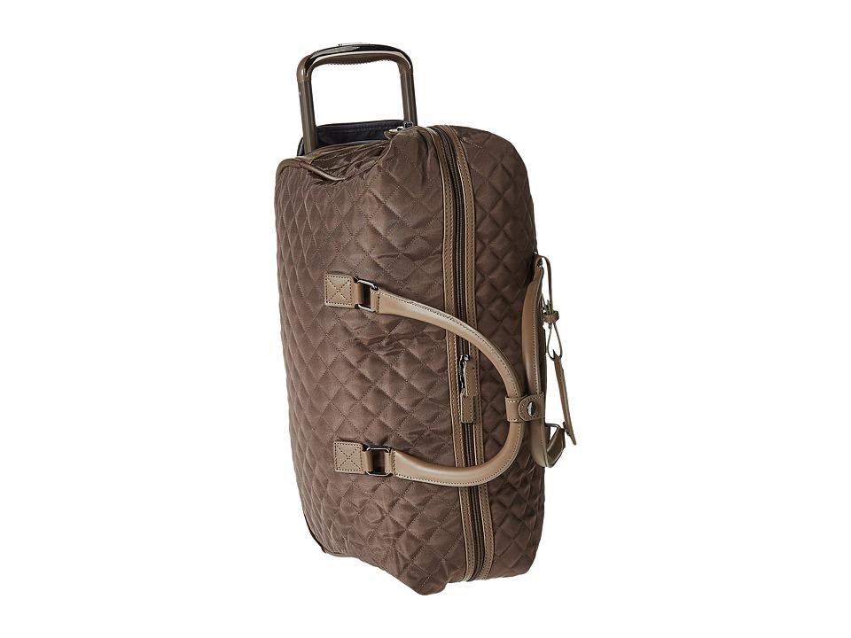 Calvin Klein - Hawthorne Wheeled Duffel (Truffle) Pullman Luggage