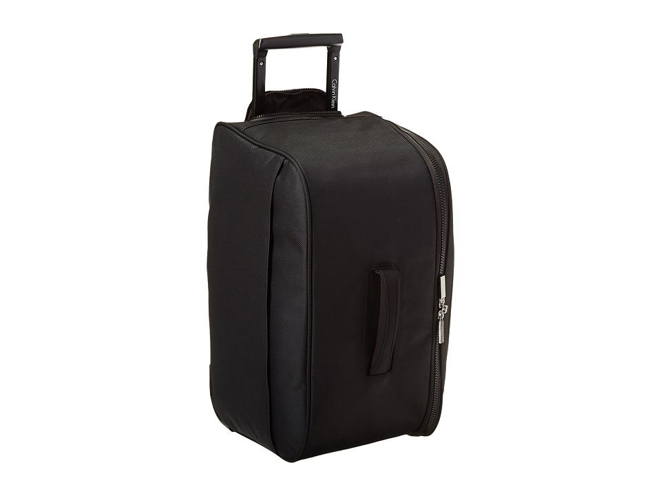 Calvin Klein - Tremont 19 Wheeled Duffel (Black) Pullman Luggage