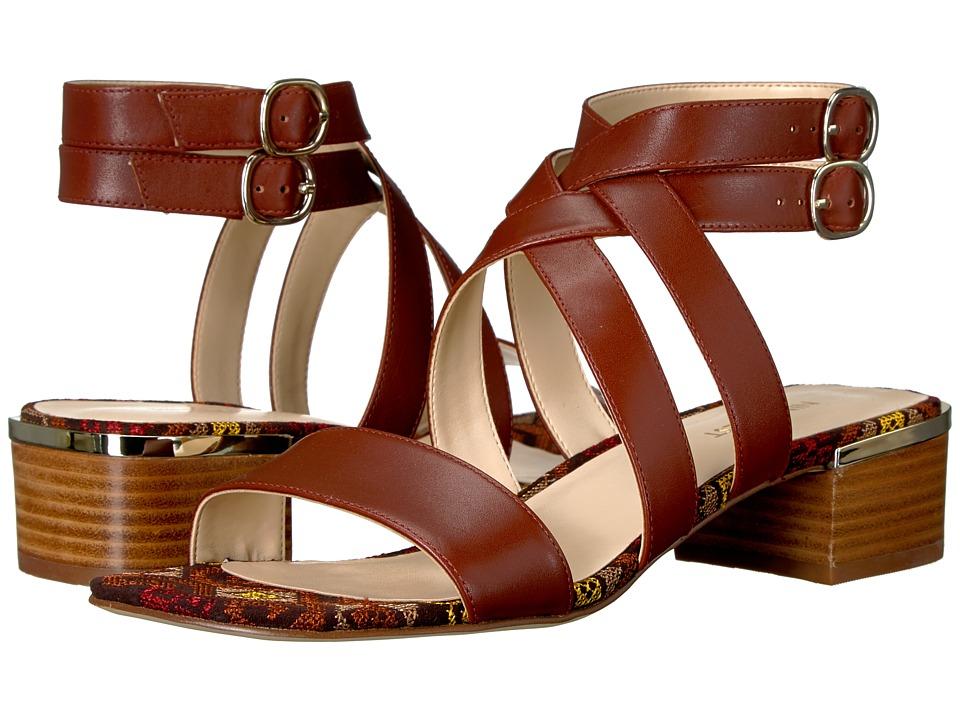 Nine West Yesta (Cognac Leather) Women