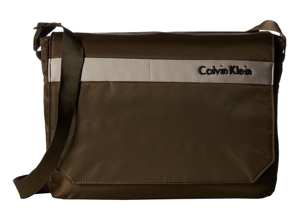 Calvin Klein - Flatiron 3.0 Messenger Bag (Brown) Messenger Bags
