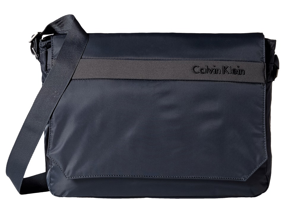Calvin Klein - Flatiron 3.0 Messenger Bag (Grey) Messenger Bags