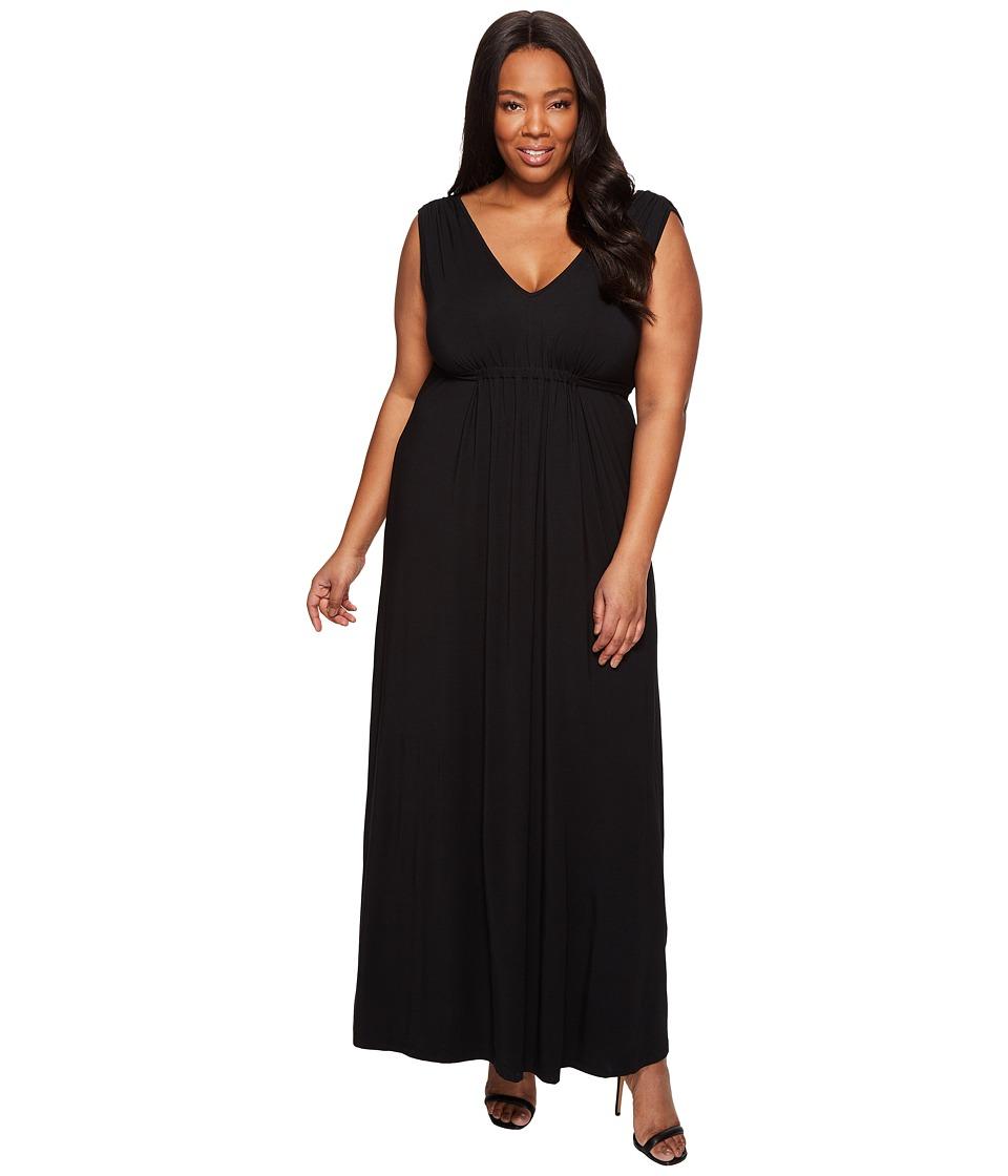 Tart Plus Size Grecia Maxi (Black) Women