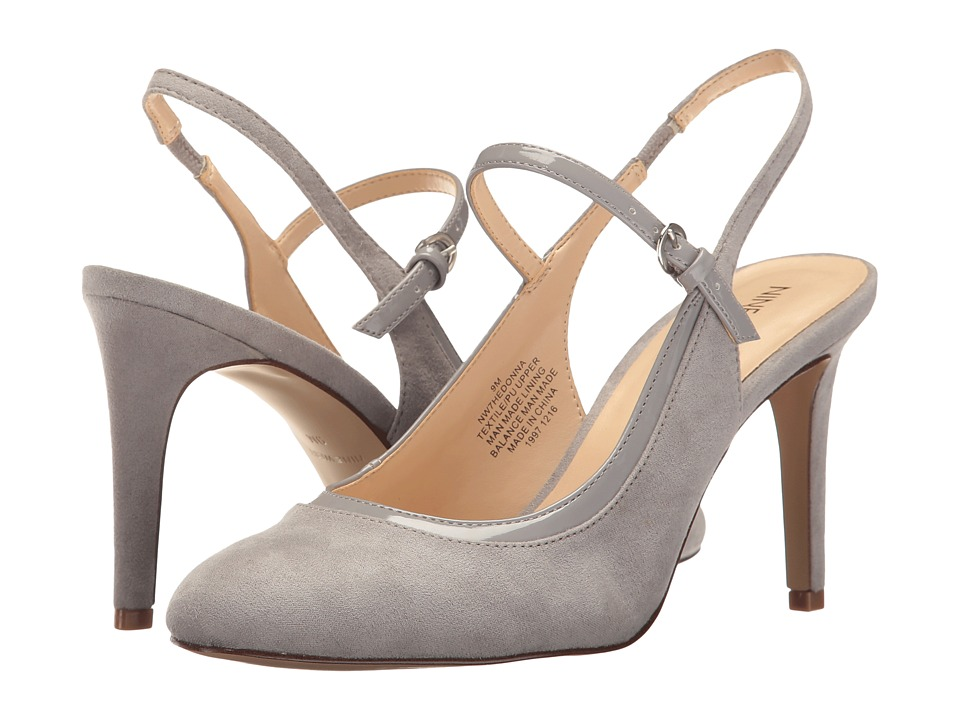 Nine West - Hedonna (Mist/Mist) Women's Shoes