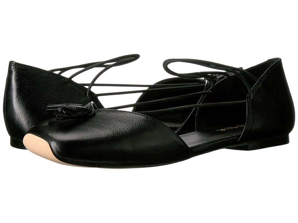 Nine West Zaina (Black Leather) Women