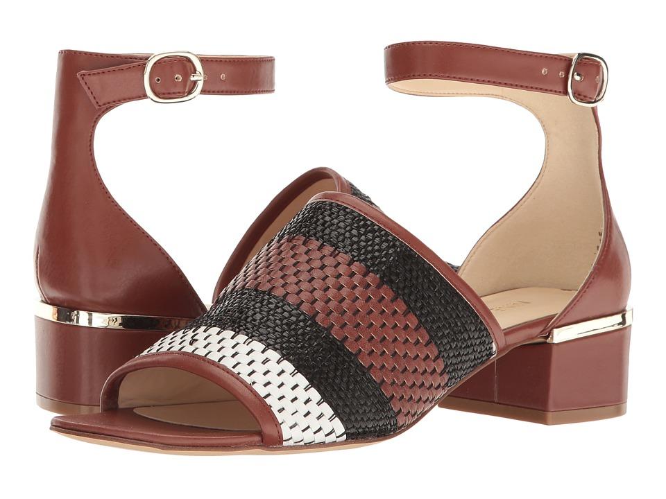 Nine West - Yorada 2 (Black Multi Fabric) Women's Sandals