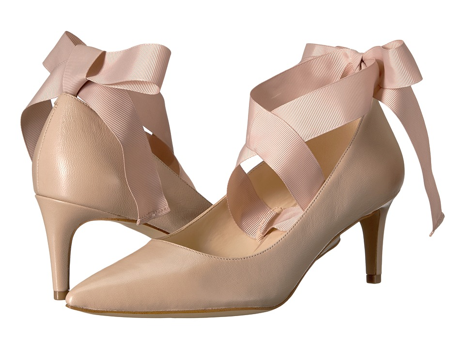 Nine West - Sylmar (Natural Leather) High Heels