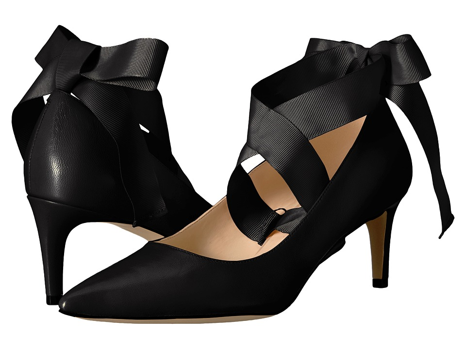Nine West - Sylmar (Black Leather) High Heels