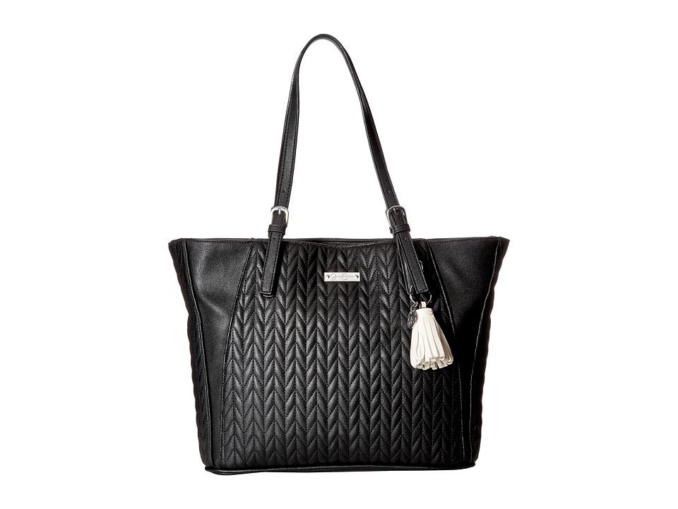Jessica Simpson - Cynthia Tote (Black/ clair Tassel) Tote Handbags
