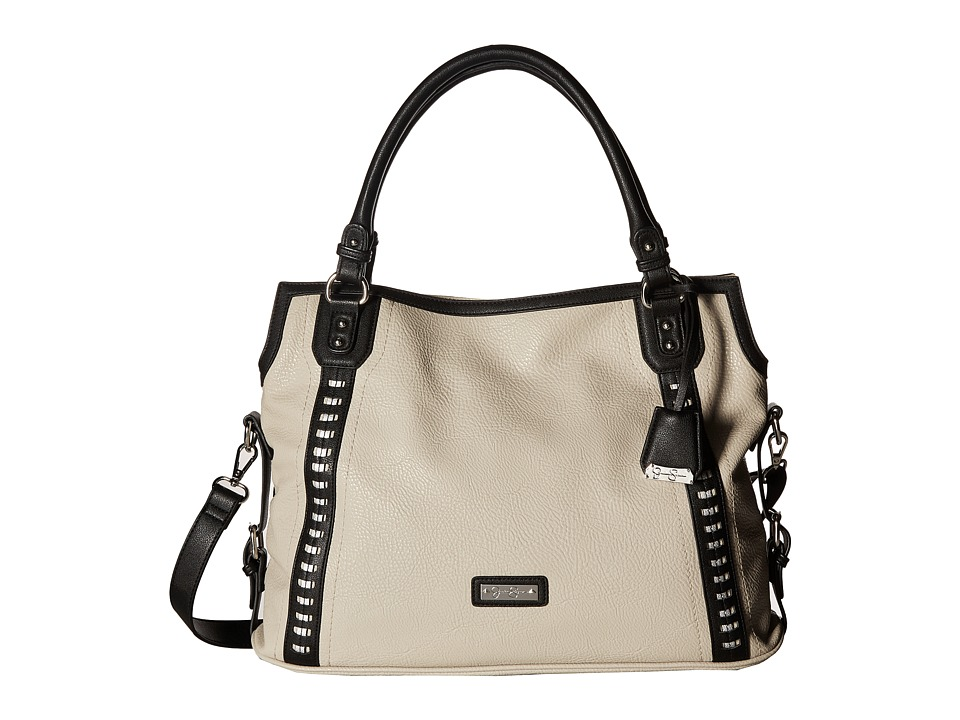 Jessica Simpson - Willow Tote (Gris/Black/Dark Silver) Tote Handbags