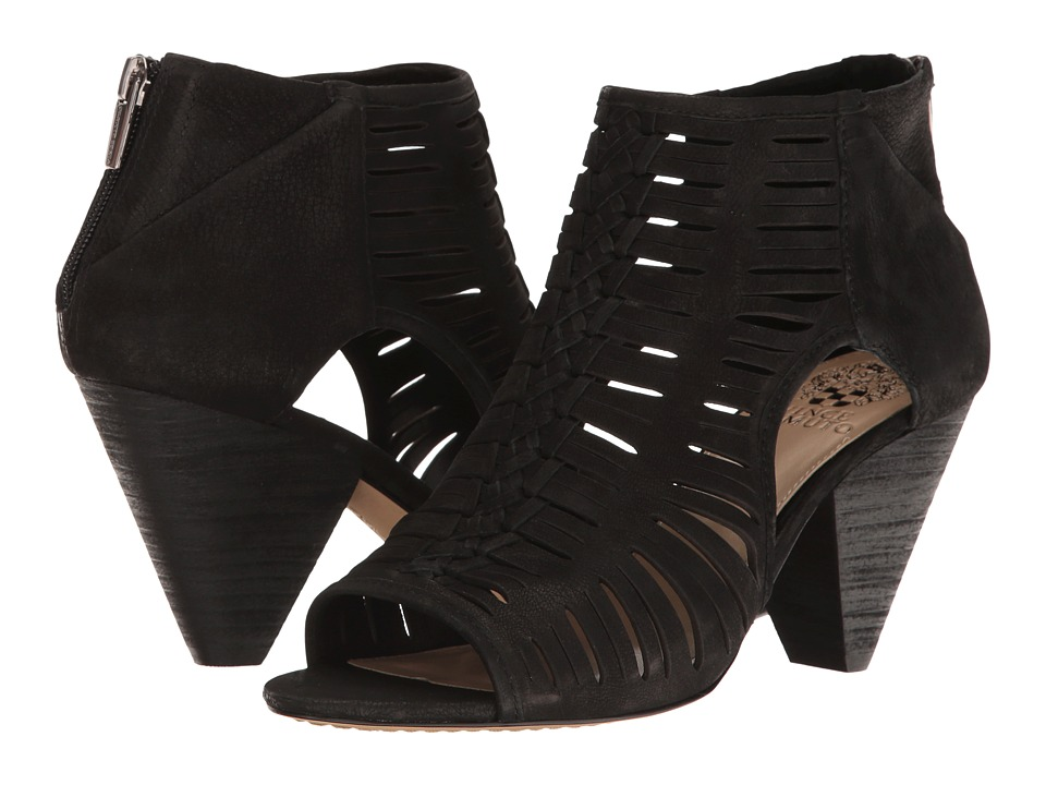Vince Camuto - Eldora (Black Tumbled Buff Goat) Women's Shoes