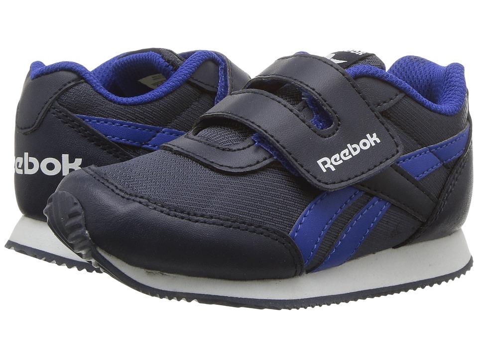 Reebok Kids Royal CL Jogger 2RS KC (Toddler) (Collegiate Navy/Vital Blue/White) Boys Shoes
