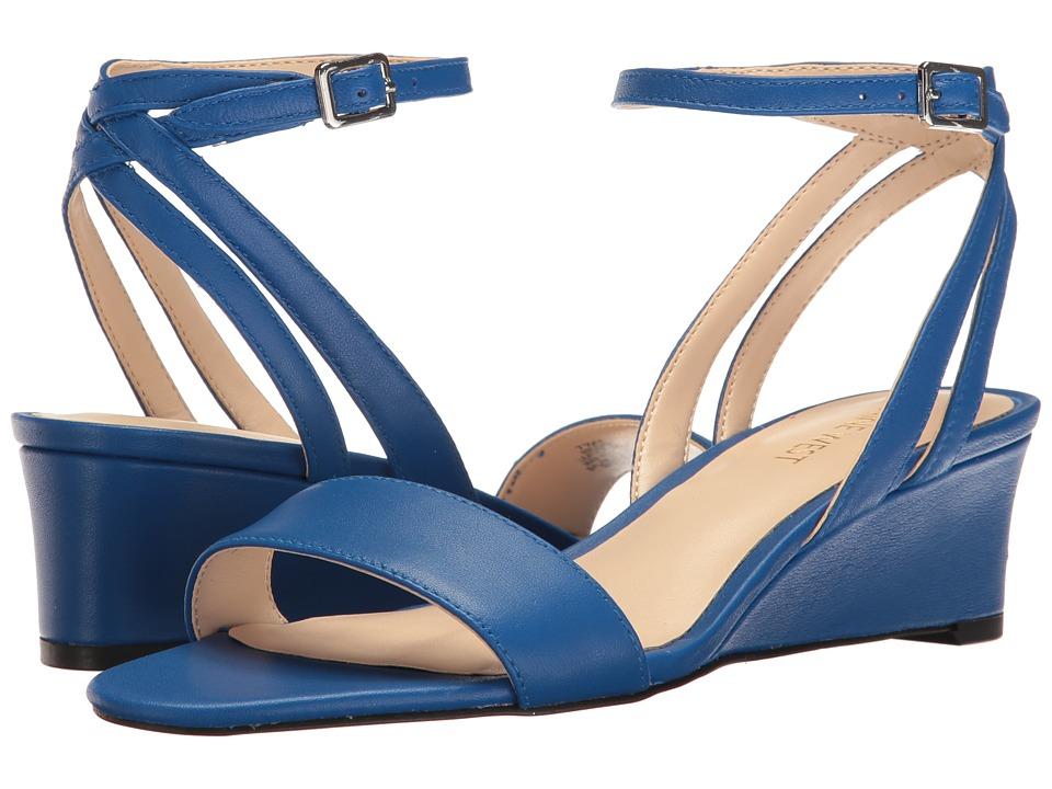 Nine West - Lewer (Blue Leather) Women's Shoes
