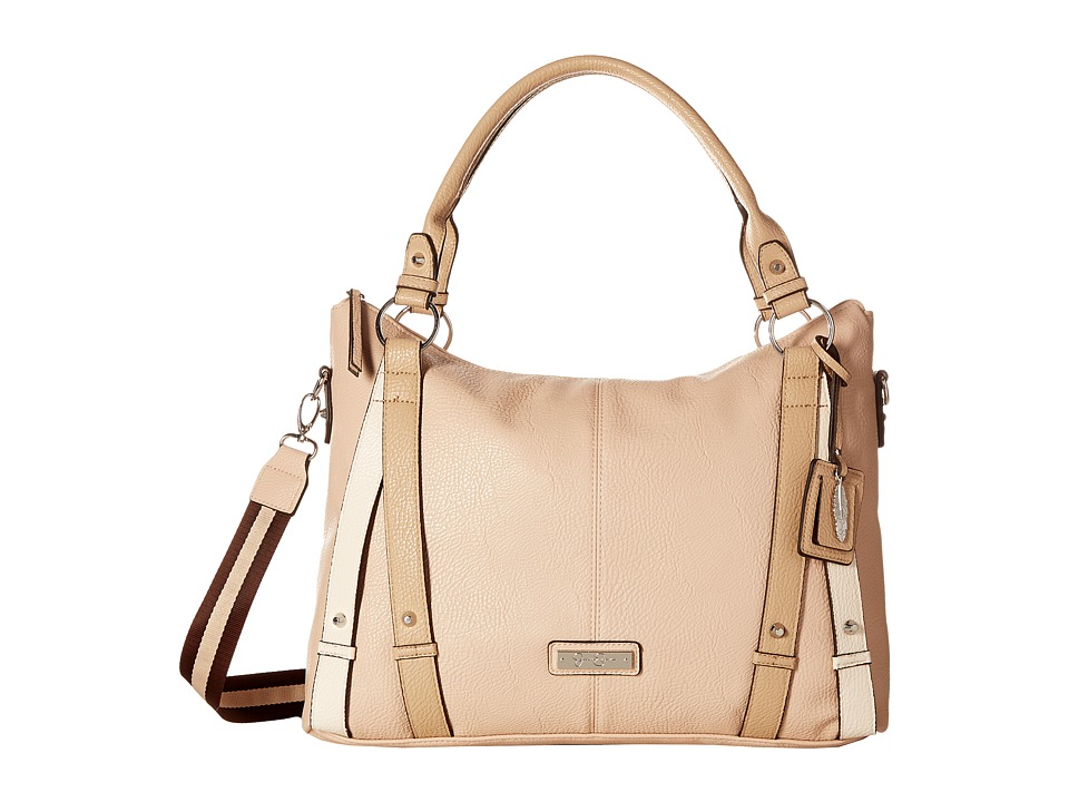 Jessica Simpson - Greer Crossbody Tote (Blush/Toasted Almond/ clair) Tote Handbags