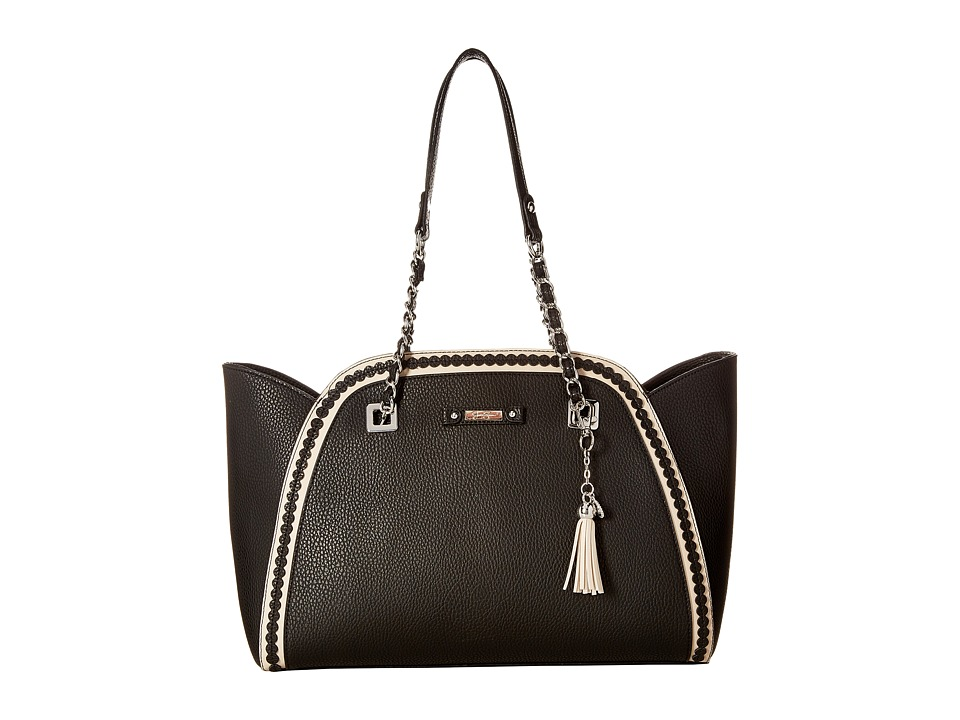 Jessica Simpson - Winnie East/West Tote (Black) Tote Handbags