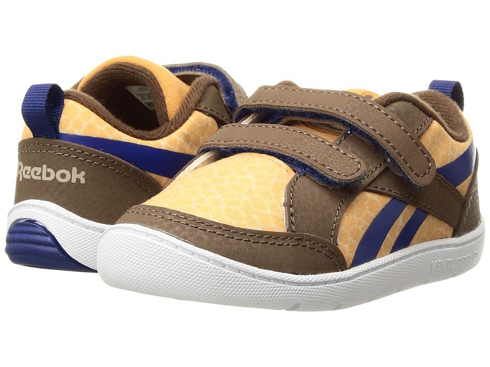 Reebok Kids - Ventureflex Critter Feet (Toddler) (Dark Brown/Oatmeal/Rich Camel/Cobalt) Boys Shoes