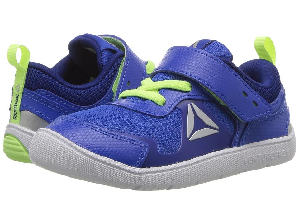 Reebok Kids Ventureflex Stride 5.0 (Toddler) (Vital Blue/Deep Cobalt/Electric Flash) Boys Shoes
