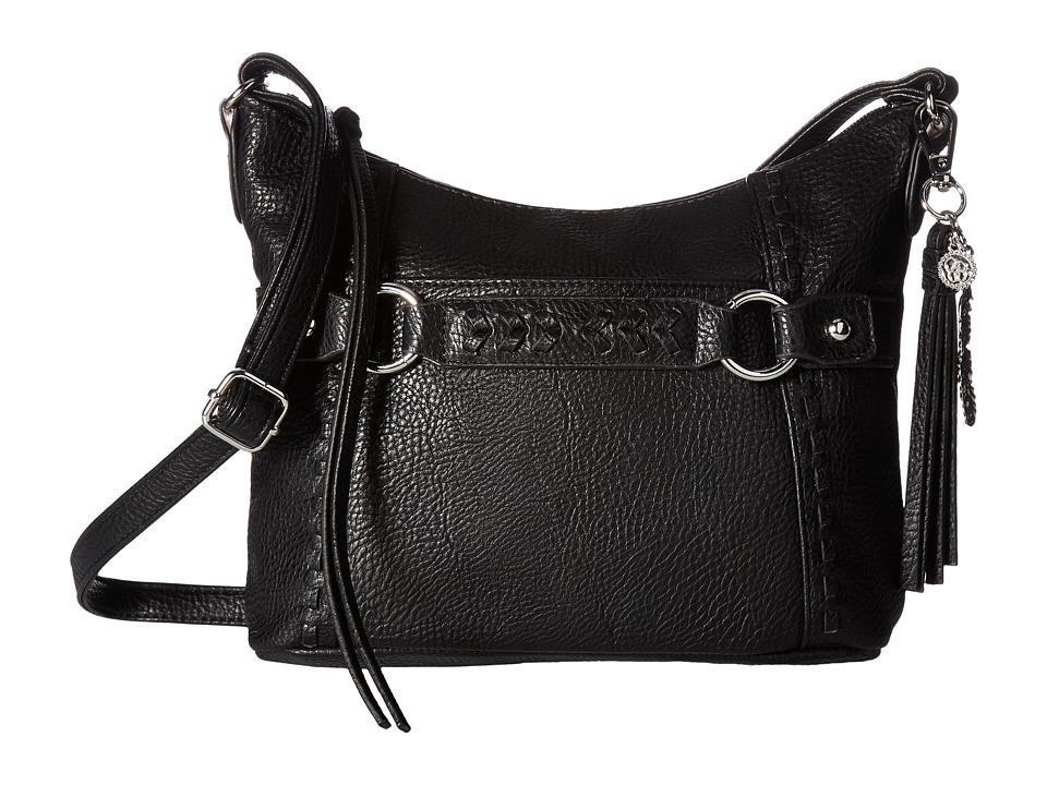 Jessica Simpson - Shana Crossbody (Black) Cross Body Handbags