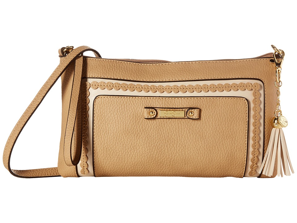 Jessica Simpson - Winnie Clutch Crossbody (Toasted Almond) Cross Body Handbags