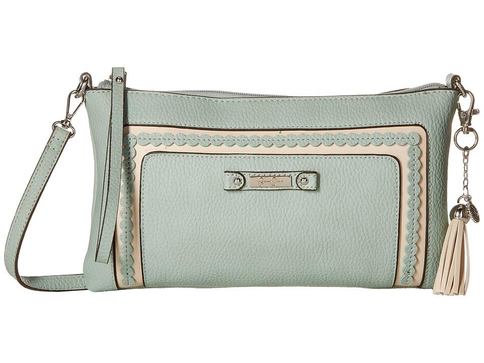 Jessica Simpson - Winnie Clutch Crossbody (Seafoam) Cross Body Handbags