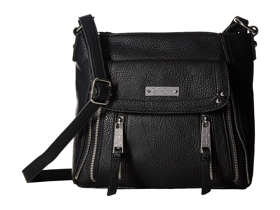 Jessica Simpson - Zuri Crossbody (Black) Cross Body Handbags