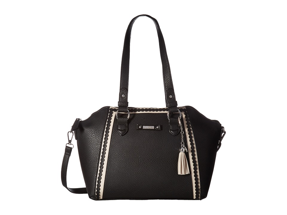 Jessica Simpson - Winnie Satchel (Black) Satchel Handbags