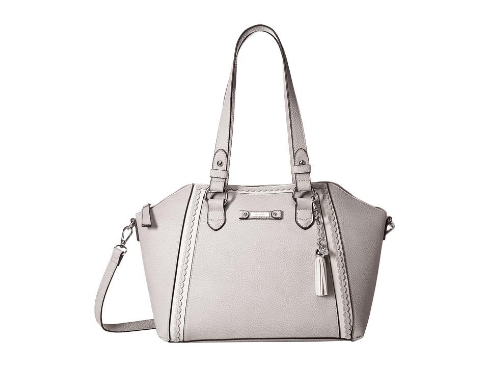 Jessica Simpson - Winnie Satchel (Gris) Satchel Handbags